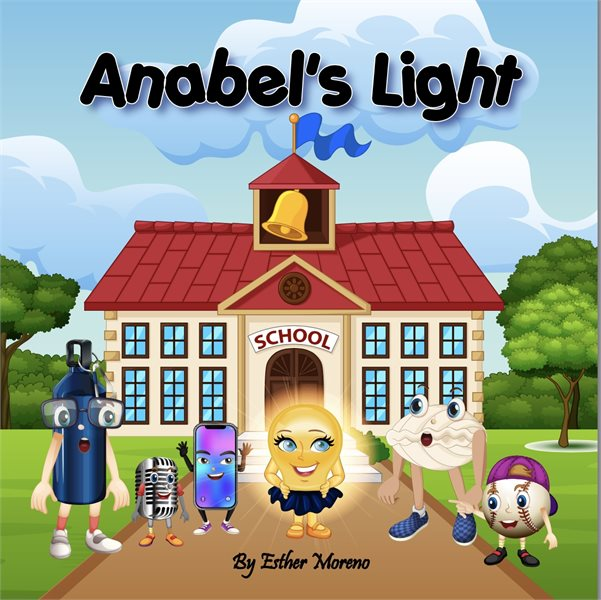 Anabel's Light book to the page